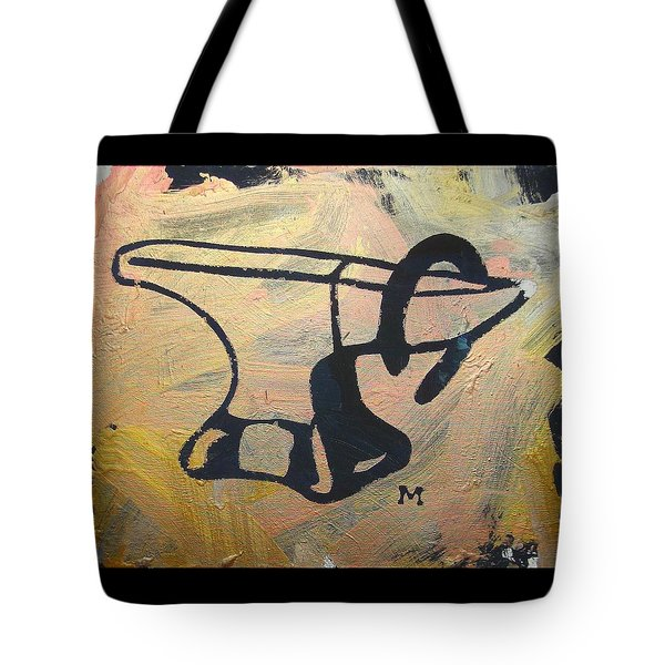 Tote Bag featuring the painting Farrier's Friend by Candace Shrope