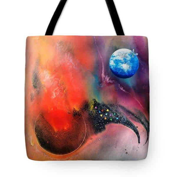 Farwell To Mars Tote Bag by Lee Pantas