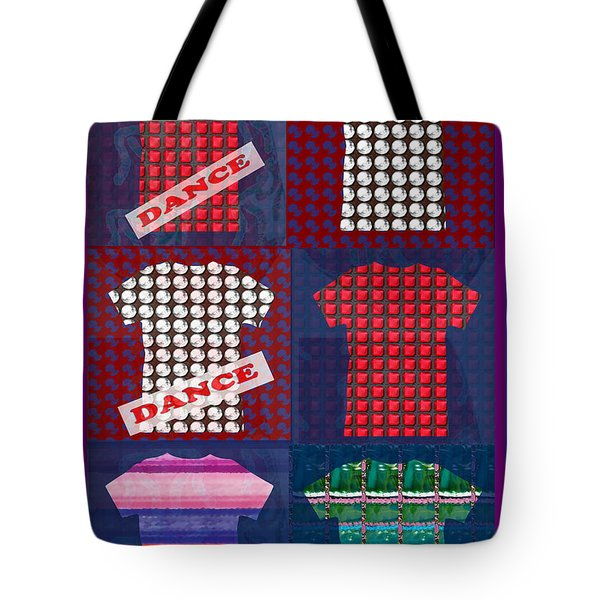 Fashion Couture Experts Designers Textures Beads Jewels T-shirt Show Buy Wall Art Interior Decoratio Tote Bag by Navin Joshi