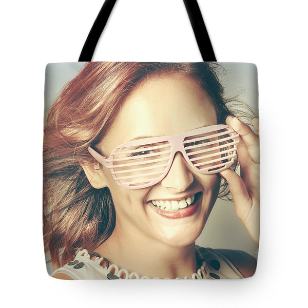 Fashion Eyewear Pin-up Tote Bag