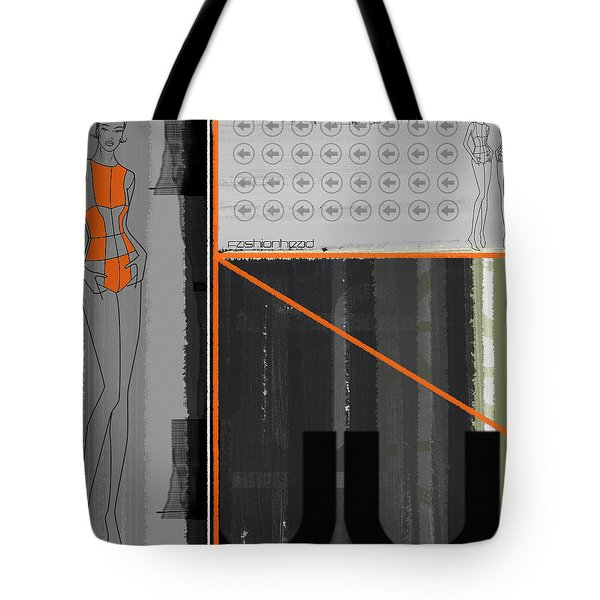 Fashion Head Tote Bag