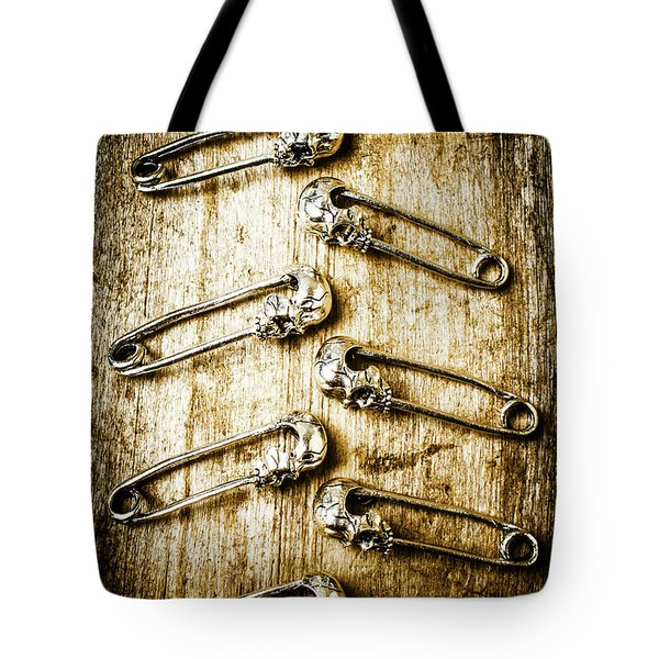 Safety Pin Tote Bags | Fine Art America