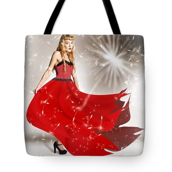 Fashion Love In The Spread Of Designs Tote Bag