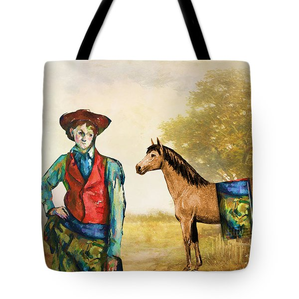 Fashionably Western Tote Bag
