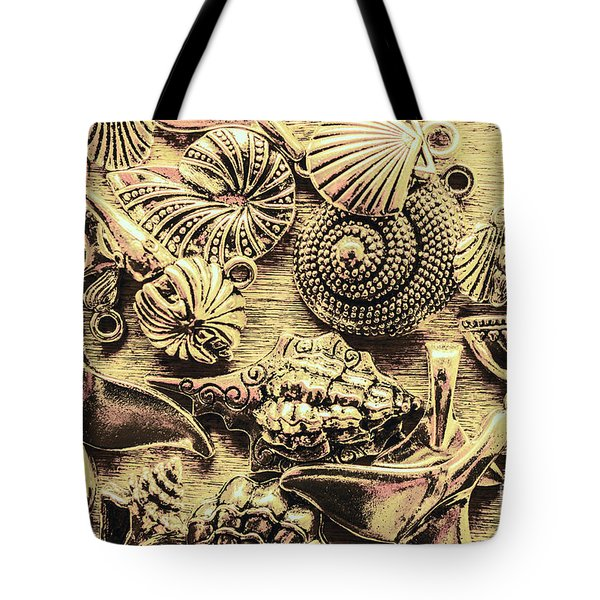 Fashioning A Oceanic Theme Tote Bag