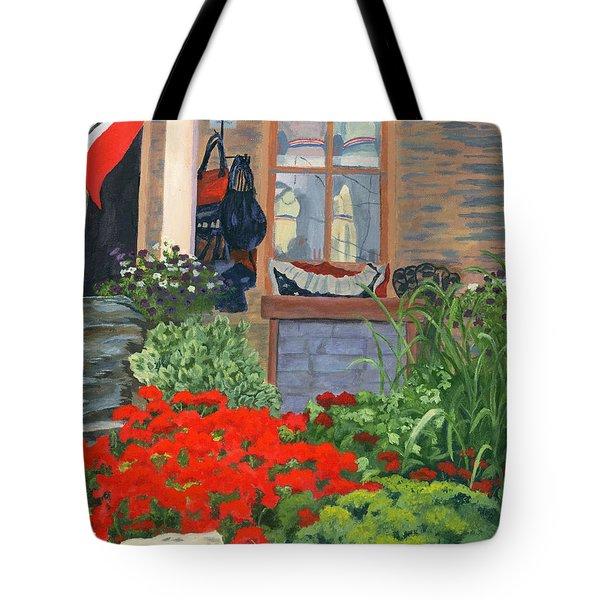 Fashionista Tote Bag by Lynne Reichhart