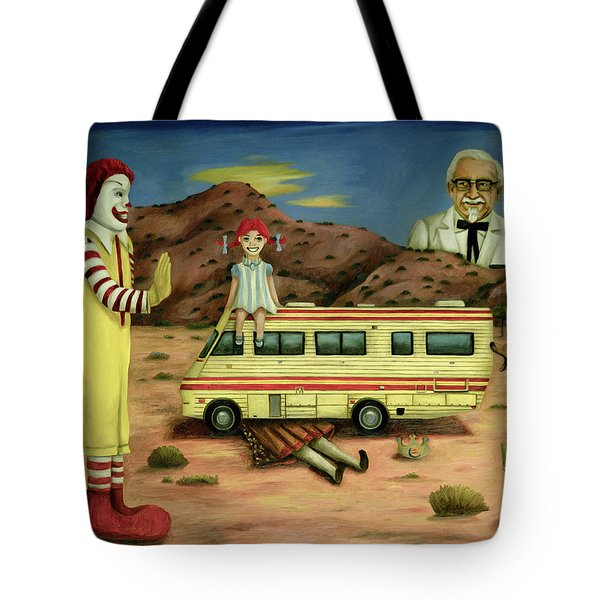 Fast Food Nightmare 5 The Mirage Tote Bag