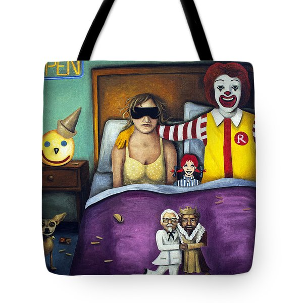 Fast Food Nightmare Tote Bag