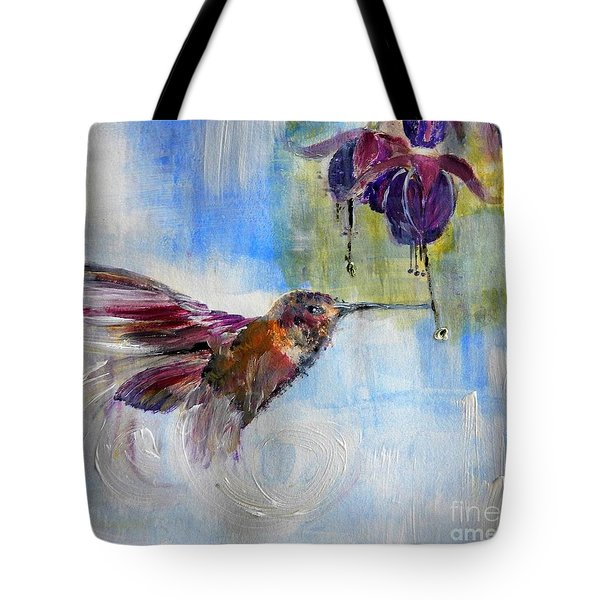 Fast Fuchsia Checkout Tote Bag by Lisa Kaiser