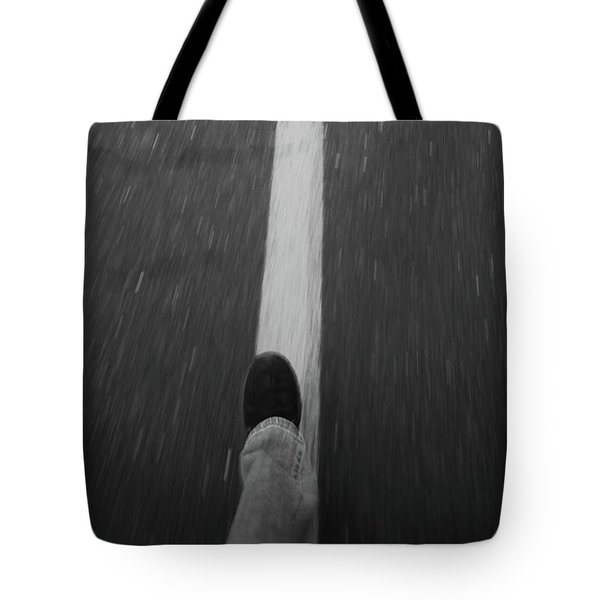 Fast Steppin Tote Bag by Karol Livote