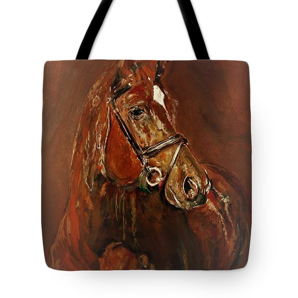 Fasten With A Buckle Tote Bag
