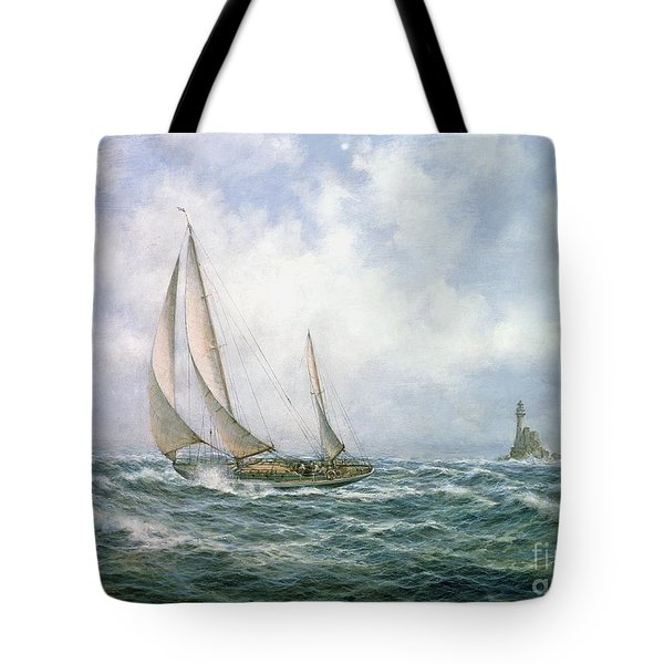Fastnet Abeam Tote Bag by Richard Willis