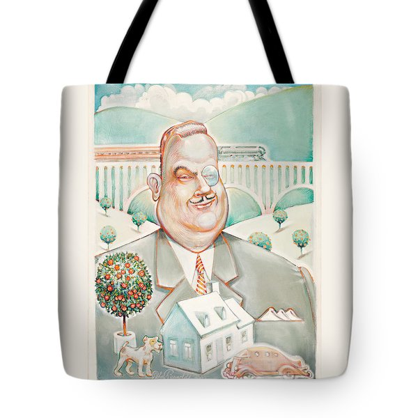 Sir Billiam Tote Bag