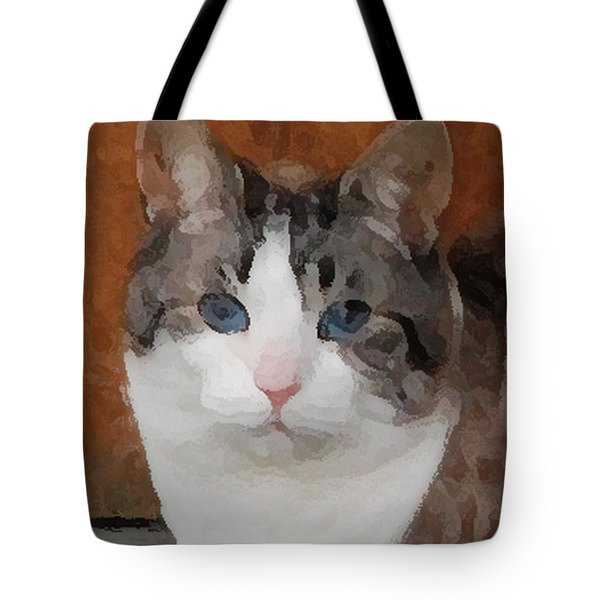 Fat Cats Of Ballard 3 Tote Bag