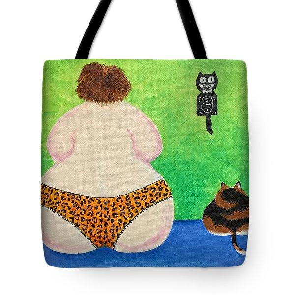 Fat Cats Tote Bag