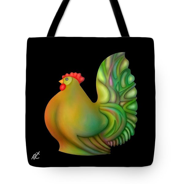 Fat Chicken By Rafi Talby  Tote Bag by Rafi Talby