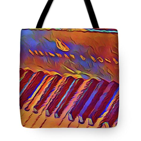 Fat Domino's Piano Tote Bag