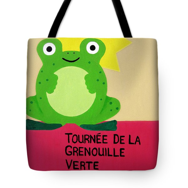Fat Frog Best Tote Bag by Oliver Johnston