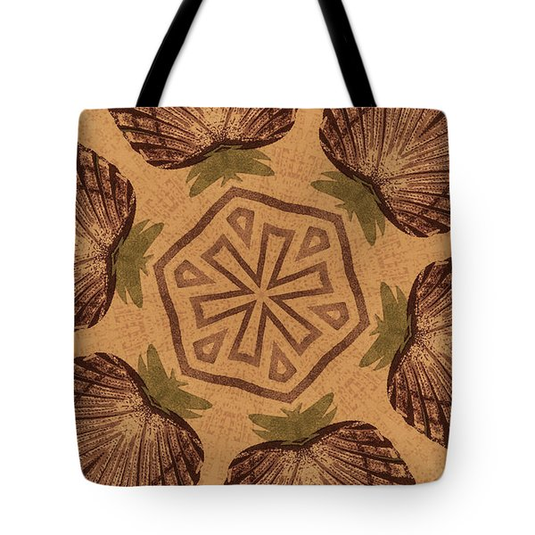 Fat Pineapple And Star Tote Bag
