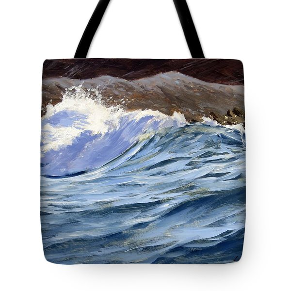 Fat Wave Tote Bag