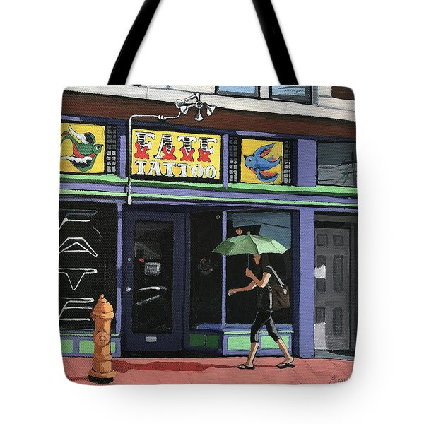 Fate Tattoo Tote Bag