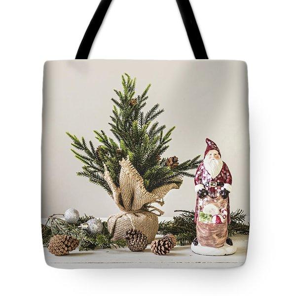 Tote Bag featuring the photograph Father Christmas by Kim Hojnacki