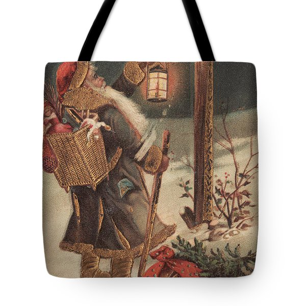 Father Christmas Tote Bag