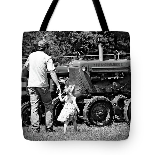 Father/daughter Day Tote Bag