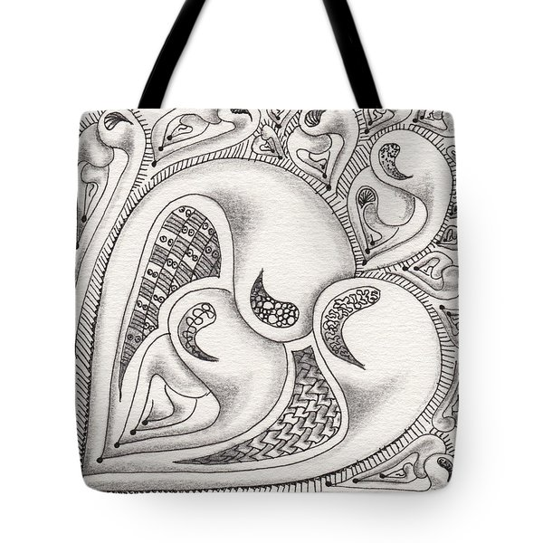Father Heart Tote Bag