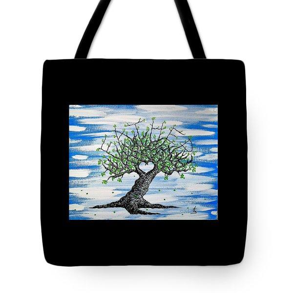 Father Love Tree Tote Bag