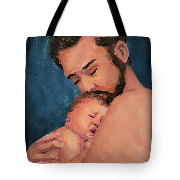 Fatherhood Tote Bag