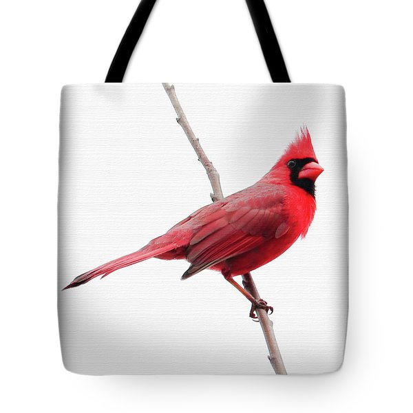 Father's Day Cardinal Tote Bag