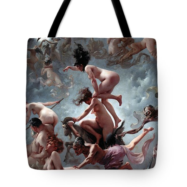 Faust's Vision Tote Bag by Luis Riccardo Falero