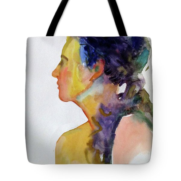 Fauve Profile Tote Bag by Mark Lunde