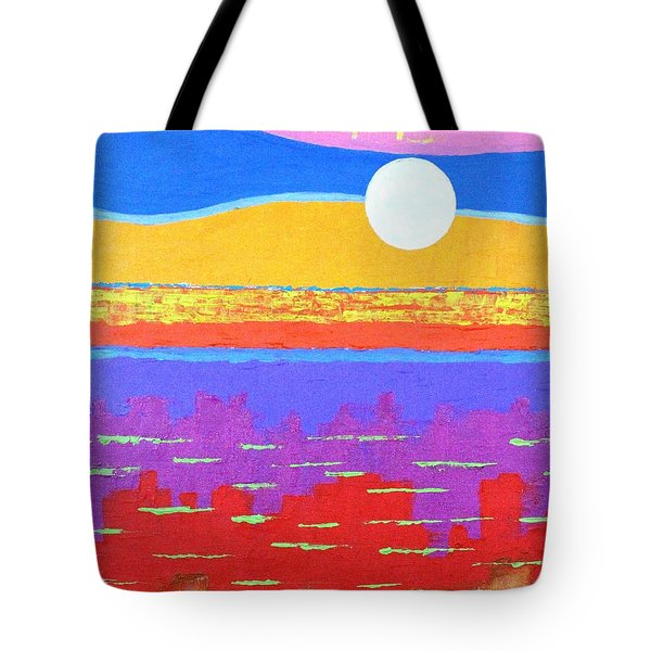 Fauvist Sunset Tote Bag