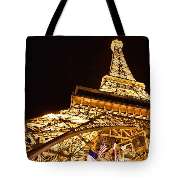 Tote Bag featuring the photograph Faux Eiffel by Kim Wilson