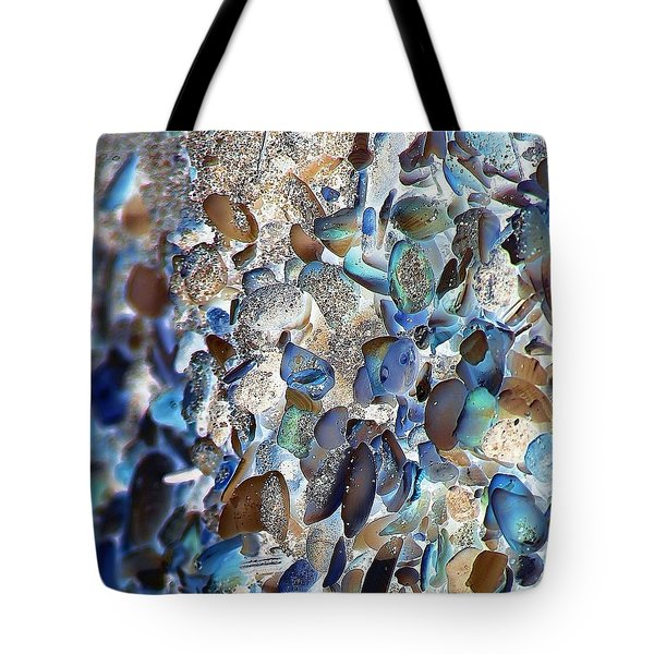 Faux Sea Glass Tote Bag