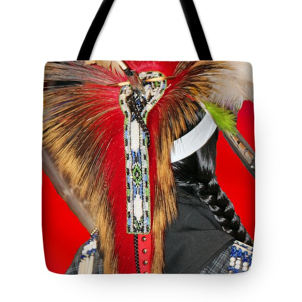 Favored Feathers Tote Bag by Audrey Robillard