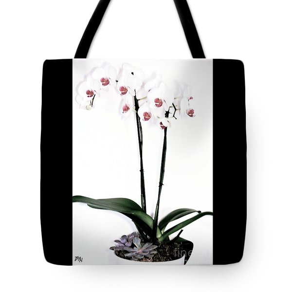 Favorite Gift Of Orchids Tote Bag by Marsha Heiken