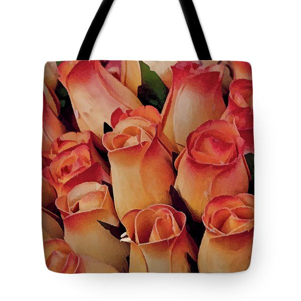 Favorite Roses Tote Bag