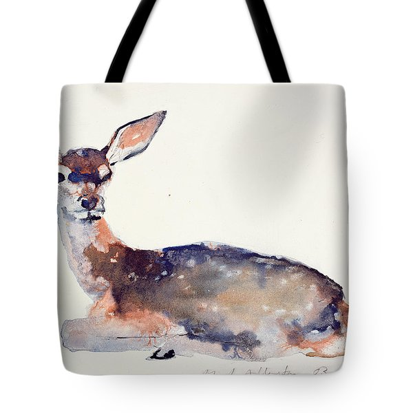 Fawn Tote Bag by Mark Adlington