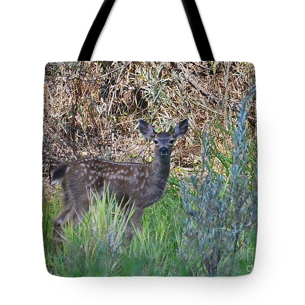Fawn On The Rogue Tote Bag
