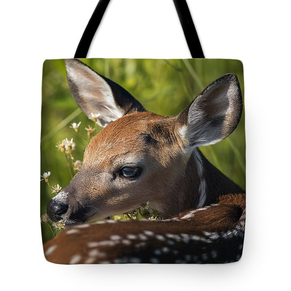 Fawn Over The Shoulder Tote Bag