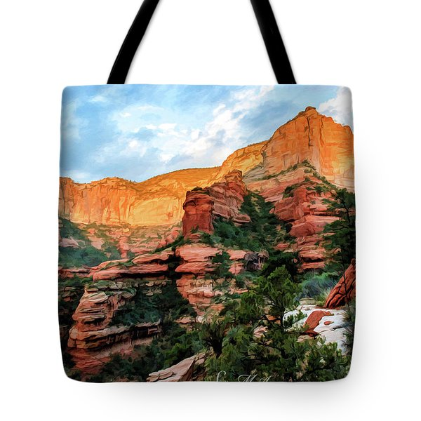 Fay Canyon 07-053 Tote Bag by Scott McAllister