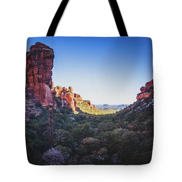 Fay Canyon Vista Tote Bag