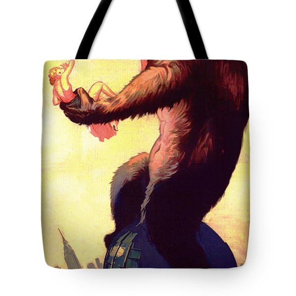 Fay Wray In King Kong 1933 Tote Bag