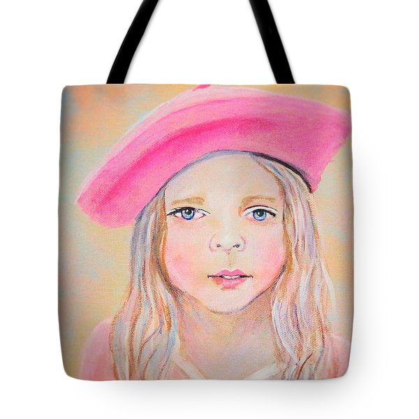 Fayanna Little French Angel Of Trust Tote Bag by The Art With A Heart By Charlotte Phillips