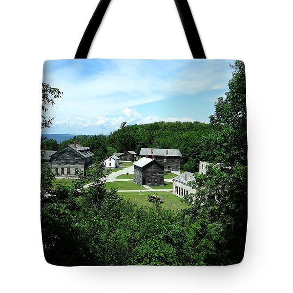 Fayette Historic State Park Tote Bag