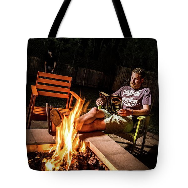Fear By Fire Tote Bag
