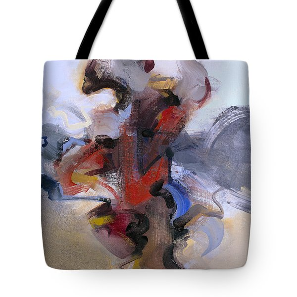 Fear Of Holding On Tote Bag
